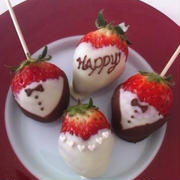 簡単すぎる可愛いバレンタインいちごチョコ☆ウェディング☆デコチョコ☆タキシード