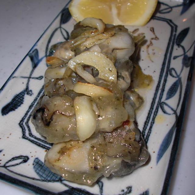 牡蛎のハーブガーリック焼きσ(゚ー^*)
