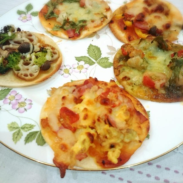 子どもたちと簡単ピザ作り!!!