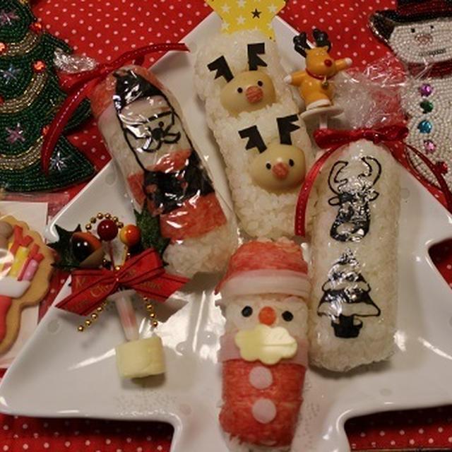 アイデアSUSHI+レシピ 酢めしでスティックおにぎり★クリスマス&手巻き寿司