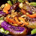 【夏野菜レシピ】なすとオクラのさっぱり酢醤油焼きびたし