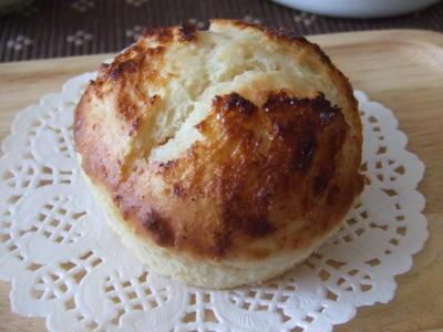 レモンとメープルのチーズ豆乳マフィン