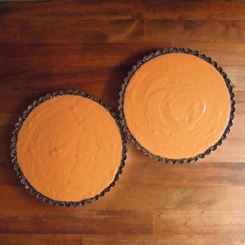 オレンジとトマトのロータルト