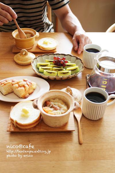 朝ごパン2日分・ポトフのリメイクと美味しい市販のホワイトソース