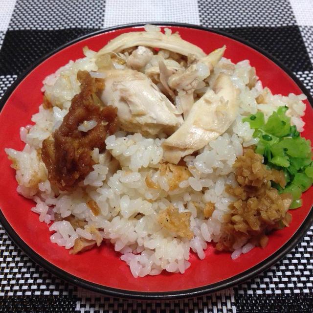 余ったKFCでシンガポールチキンライス