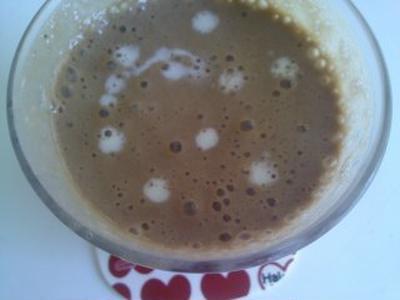 レシピ バナナと豆乳のカフェ