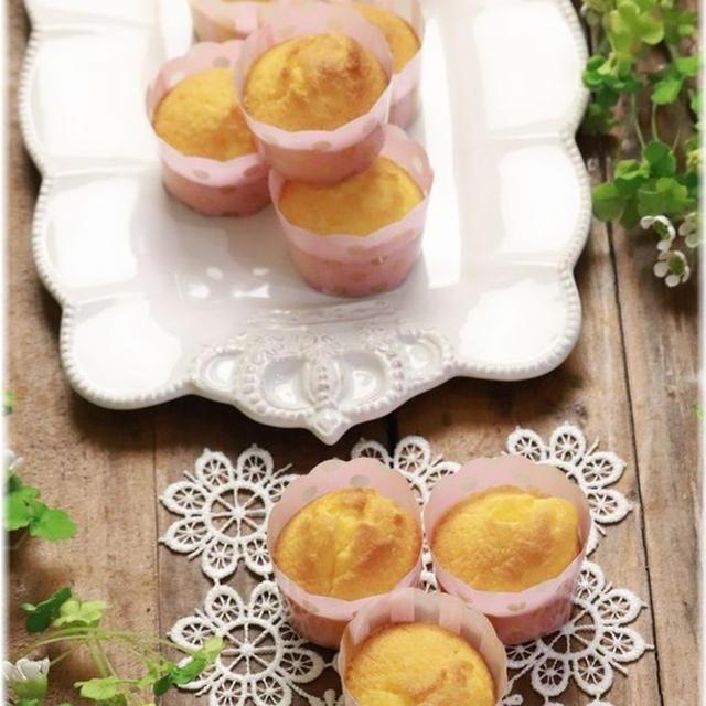 【レシピ】材料は4つだけ!片栗粉でしっとり少しむっちりケーキ。 眉間のシワ