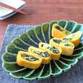 簡単アレンジ卵☆野沢菜の卵巻き