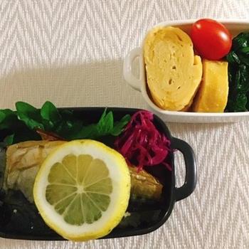 サバの塩焼き弁当