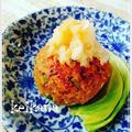 超簡単☆いかなごの釘煮で豆腐ハンバーグ♡ by keikanaさん