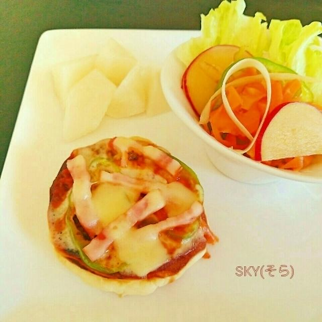 流行りごはん*パンケーキ&PIZZAの素敵なコラボレーション
