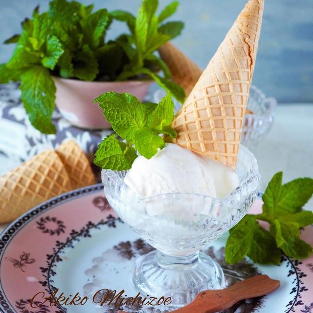 【ジップ式袋で材料3つ手作りアイス】卵不使用*モミモミアイスクリーム