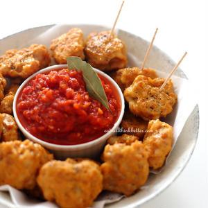 お弁当にもオススメ♪鶏むね肉で作る簡単「チキンナゲット」