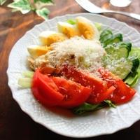 ささみと彩り野菜のごちそうサラダ