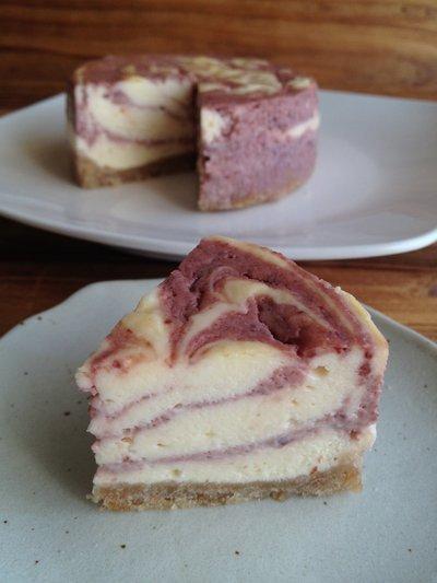 チェリーマーブルNYチーズケーキ