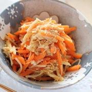 彩り鮮やかでお弁当にも♪「えのき×にんじん」のお手軽副菜レシピ
