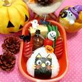 ハロウィン★黒猫ちゃん三角おにぎりおにぎり弁当 by とまとママさん