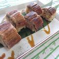 出汁巻き卵入り★鰻の棒寿司 by さちくっかりーさん