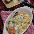 ずいき芋の味噌グラタン♪