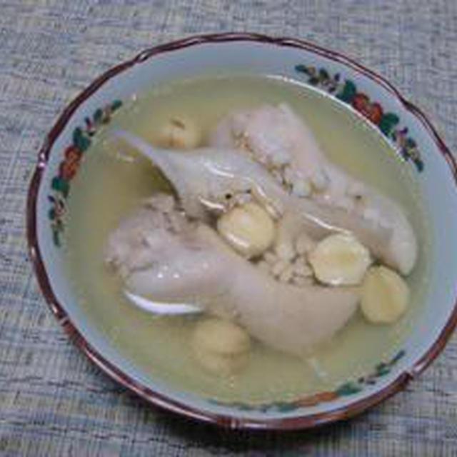 台湾のスープマジック!!「四神湯」