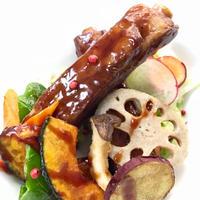 ダイナミックにスペアリブでバル酢豚ヽ(´▽`)/