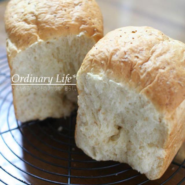 楽しい食感。グラハム入りのパン。