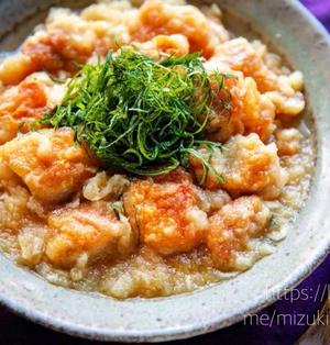 ♡めんつゆde鶏肉のおろし煮♡【#簡単レシピ#大根#ヘルシー#時短】