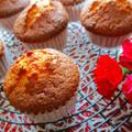 母の日は我が家で大人気ケーキをアレンジ⇒玄米粉入りカップケーキ♪