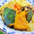 [ご飯が進む]うどん入り肉かぼちゃ by satorisuさん