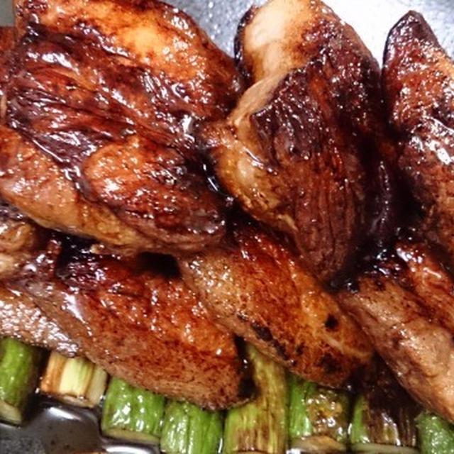野郎飯流・塩豚ソテーバルサミコ風味