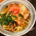 手打ち麺とラフテー。スープが美味しい!沖縄そばのレシピ。