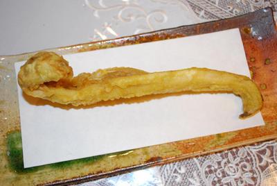 アナゴの天ぷら