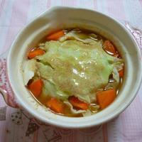 ポン酢の香る豆乳ミルフィーユ鍋
