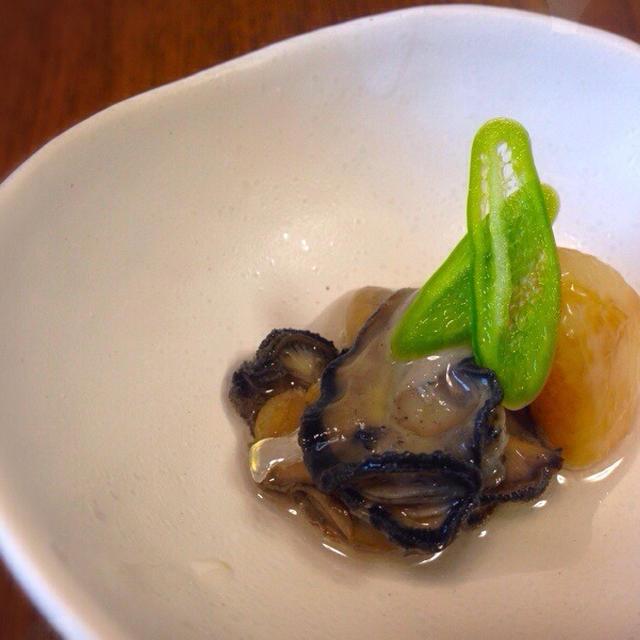 牡蠣克服か?!牡蠣のオイル煮