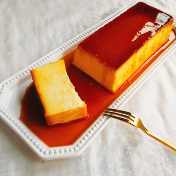 お家で簡単!絶品イタリアンプリンのレシピ【パウンド型】