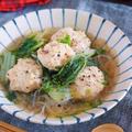 重ねて10分♪旨味エキスがじゅわ〜っ♪『鶏団子と白菜の重ねスープ煮』