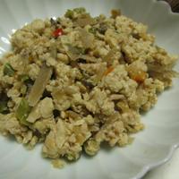 冷凍野菜の炒り豆腐(レシピ)