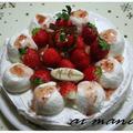 手作りだからちょっと豪華に!苺とレアチーズのケーキ by 杏衣◇さん