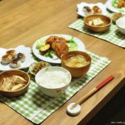鶏もも肉と薩摩芋の甘辛味噌絡めと、楽しく!おいしく!ハッピーマフィンタイム!