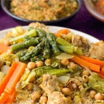 4月のレッスンメニューは『モロッコ料理』❣️ #クスクス #手作りハリッサ #料理教室
