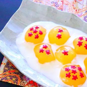 手作りわらび餅・ドラゴンボールのきゃらびもちの作り方レシピ – 料理動画