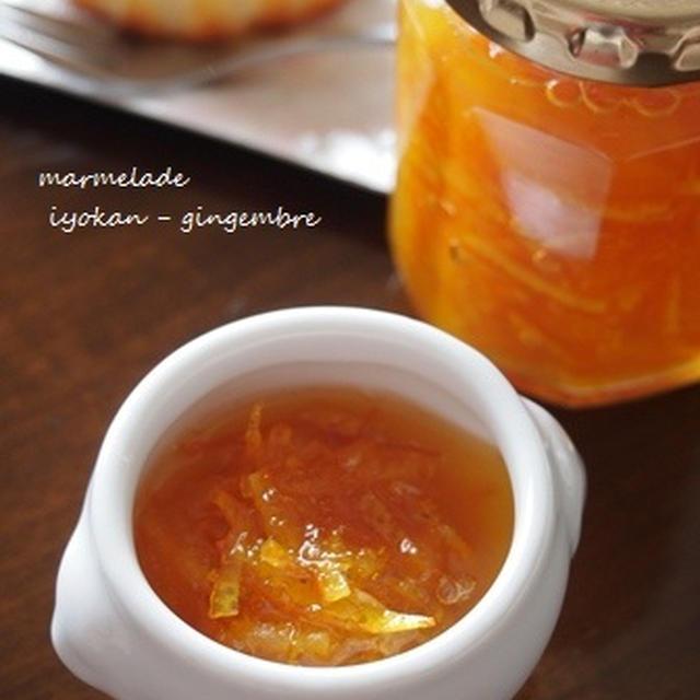伊予柑と生姜のマーマレード