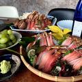 大量の蟹 おうちで蟹料理