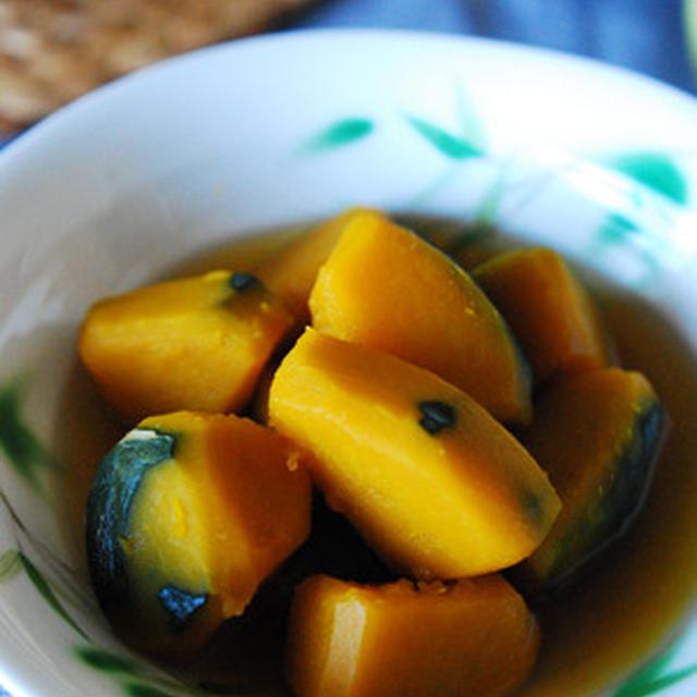 ひんやり冷たい南瓜の含め煮