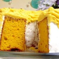 秋のオススメ!かぼちゃのシフォンケーキの試作品♪を作ってみた!!