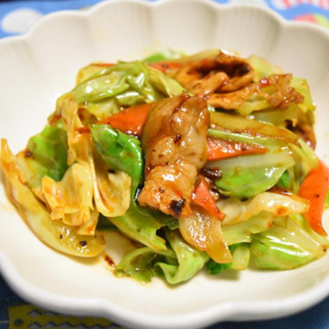嬬恋高原キャベツと豚肉と人参だけの回鍋肉【ぐんまクッキングアンバサダー】キャベツが主役のお酒にもご飯にも合う中華。