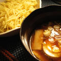 アジの干物風魚介スープつけ麺