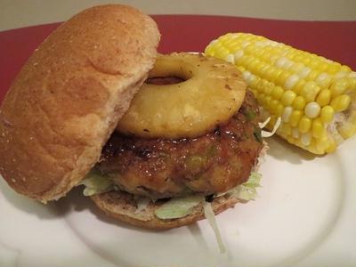 Hawaiian Burger/ ハワイアン照り焼きバーガー