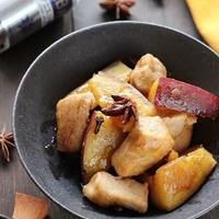 さつま芋と豚ひれ肉の八角煮