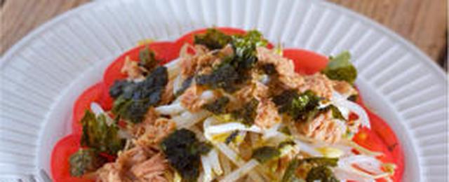 野菜をモリモリ食べたいときに!「ツナポン酢」が決め手のさっぱりサラダ